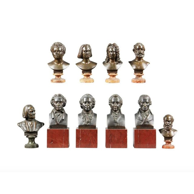 Interesting Collection of Ten Busts of Composers For Sale - Image 11 of 11