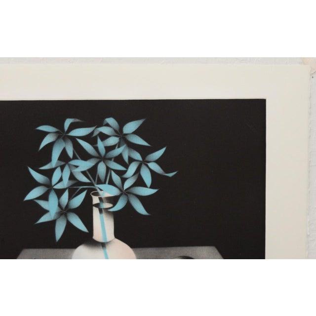 "Paper Mario Avati ""La Clarté Du Matin Chinois"" Mezzotint C.1991 For Sale - Image 7 of 8"