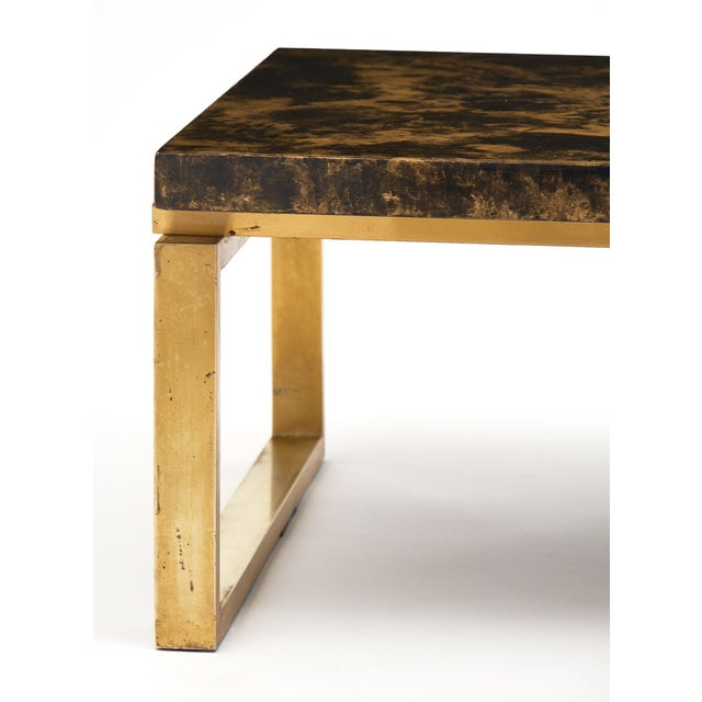 Mid-Century French Altuglass Coffee Table For Sale - Image 4 of 10