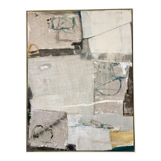 Abstract Mixed Media Painting by Kimberly Moore For Sale
