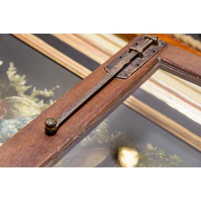 Brown Antique Oak Corner cabinet For Sale - Image 8 of 10