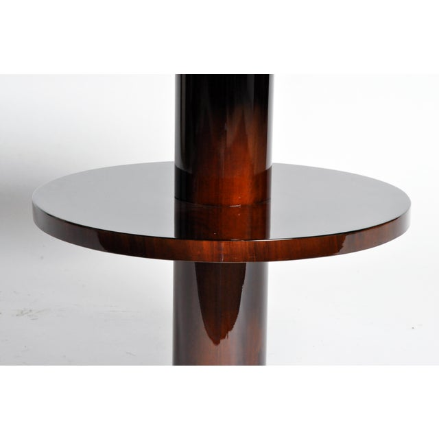 Art Deco Style Round Table For Sale - Image 9 of 11