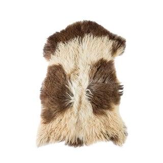 "Contemporary Long Wool Sheepskin Pelt/Handmade Rug - 2'2""x3'0"" For Sale"