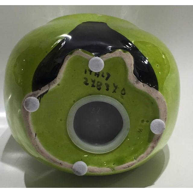 Ceramic Vintage Mid Century Baldelli Italian Ceramic Owl Bank For Sale - Image 7 of 11