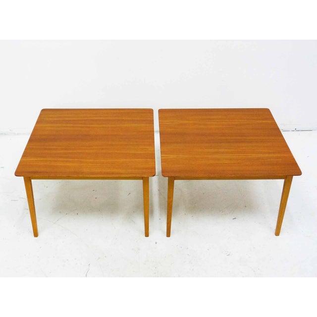 Mid-Century Modern Tingstroms of Sweden Teak Side Tables - A Pair For Sale - Image 3 of 8