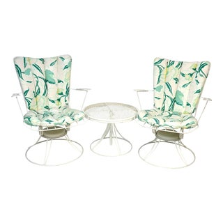 Homecrest Mid Century Patio Seating Furniture - Set of 3