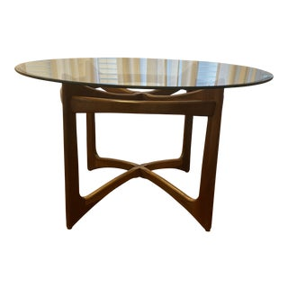 Walnut Adrian Pearsall for Craft Associates Dining Table For Sale