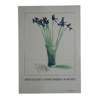 Vintage Poster Lithograph - David Hockney For Sale