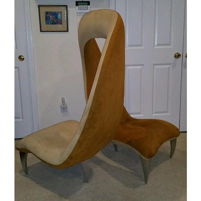 """Hank Vu """"Tete De Tete"""" Flamenco Chair - Image 5 of 7"""