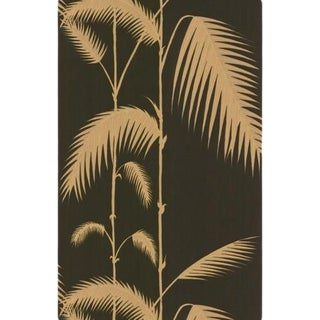 Cole & Son Palm Leaves Wallpaper Roll - Black/T For Sale