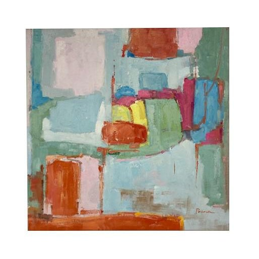 Abstract Original Oil Painting For Sale - Image 9 of 9