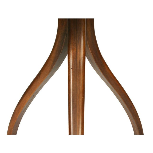 Drexel Inlaid Topped Tripod Gueridon Table For Sale In New York - Image 6 of 7