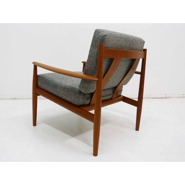 France & Son Danish Modern Grete Jalk Teak Lounge Chair For Sale - Image 4 of 10
