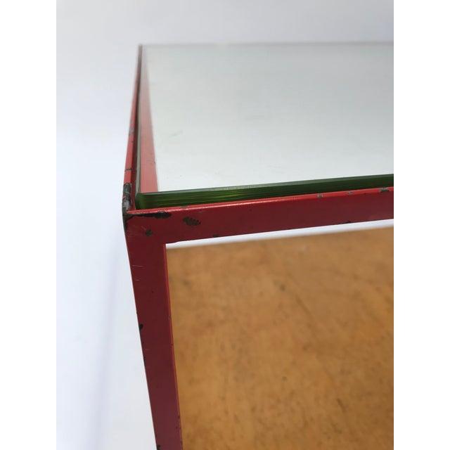 Dunbar Furniture Dunbar Steel Frame Cocktail Table For Sale - Image 4 of 11