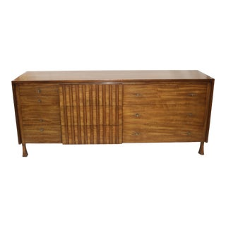 1950s Mid-Century Modern John Widdicomb Lowboy Bedroom Dresser Chest For Sale