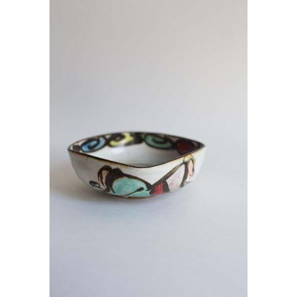Arts & Crafts Square Artist Bowl For Sale - Image 4 of 4