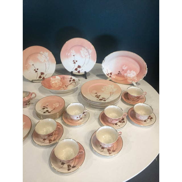 Art Deco Syracuse Old Ivory Madam Butterfly Luncheon China - 36 Piece Set For Sale - Image 11 of 12