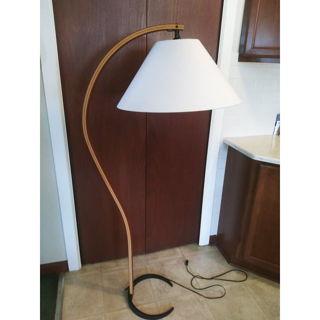Will this one last longer than a week?!?! Up for grabs is this amazing Danish Modern Bent Teak Floor Lamp by Mads Caprani...