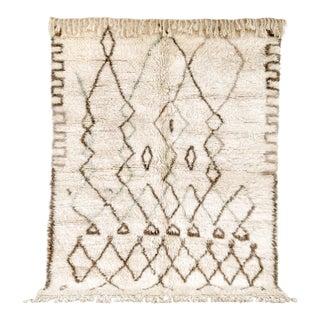 """Vintage Moroccan Azilal Wool Floor Rug - 6'1"""" × 7'10"""""""