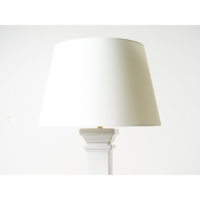 Visual Comfort Visual Comfort Balustrade Grande Table Lamp with Shade For Sale - Image 4 of 5