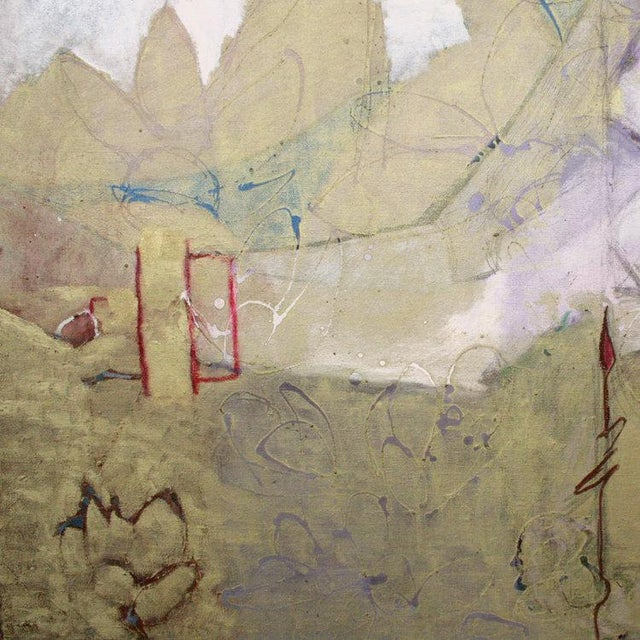 Christine Averill-Green Christine Averill - Green, Tropics Painting, 2017 For Sale - Image 4 of 6