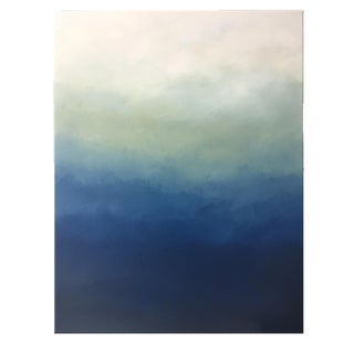 Modern Blue Ombré