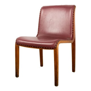 Bill Stephens for Knoll Bent Wood Dining Chair For Sale