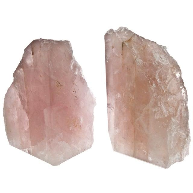 Rose Quartz Bookends - Pair - Image 4 of 4