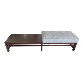 Edward Wormley for Dunbar Upholstered Bench For Sale