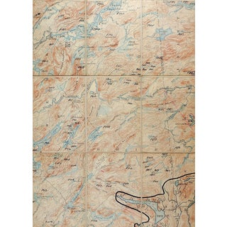 Old Forge New York 1900 Us Geological Survey Folding Map For Sale
