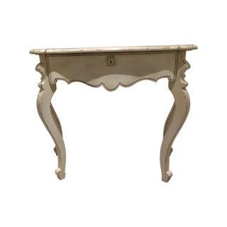 Baker Milling Road Venetian Mahogany Hall Table For Sale