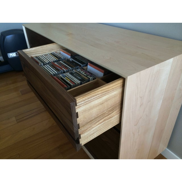 Mid-Century Modern CD Cabinet by Symbol Audio - Image 3 of 11
