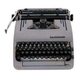 Art Deco 1950s Corona Typewriter - Image 1 of 7