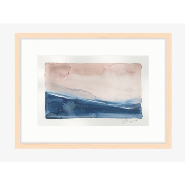 """Giclee Print on Premium Fine Art Paper Reproduction of original hand painted watercolor & gouache paint on paper 1"""" border..."""