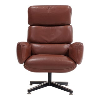 Otto Zapf Executive Desk Chair for Knoll For Sale