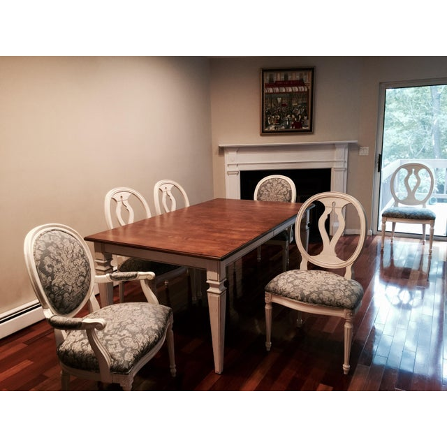 Ethan Allen Avery Style Dining Table For Sale In New York - Image 6 of 6
