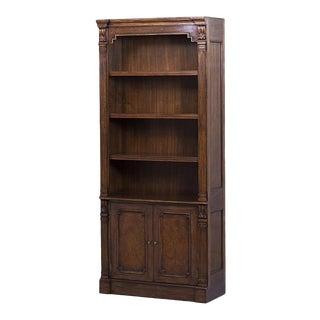 Scarborough House Myrtle Burl Adjustable Bookcase For Sale