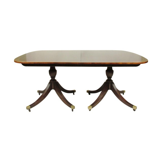 English Regency-Style Dining Table For Sale - Image 13 of 13