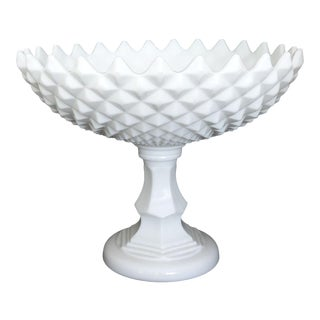 Westmoreland Large Pedestal Compote Bowl For Sale