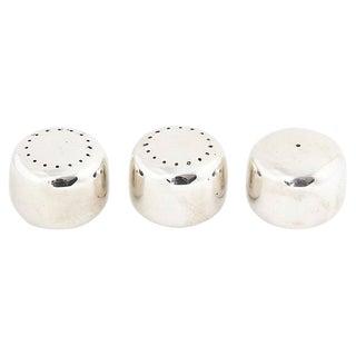 Jensen Sterling Salt & Peppers Shakers - Set of 3 For Sale