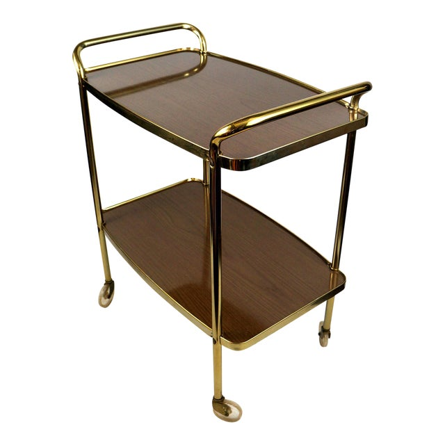 Cosco Mid-Century Modern Bar Cart - Image 1 of 8