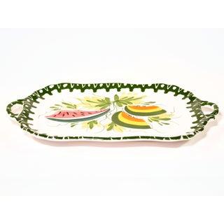 Italian Zanolli Faience Fruit Platter Preview