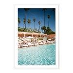 Beverly Hills by Natalie Obradovich in White Framed Paper, Medium Art Print