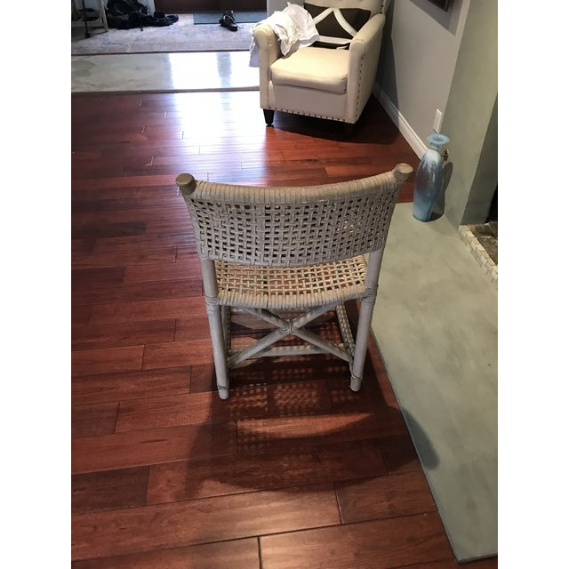 Boho Chic McGuire Antalya Chairs - Set of 4 For Sale - Image 3 of 5