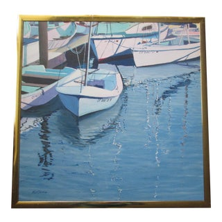 """Harbor Reflections"" by R. J. Carnahan"