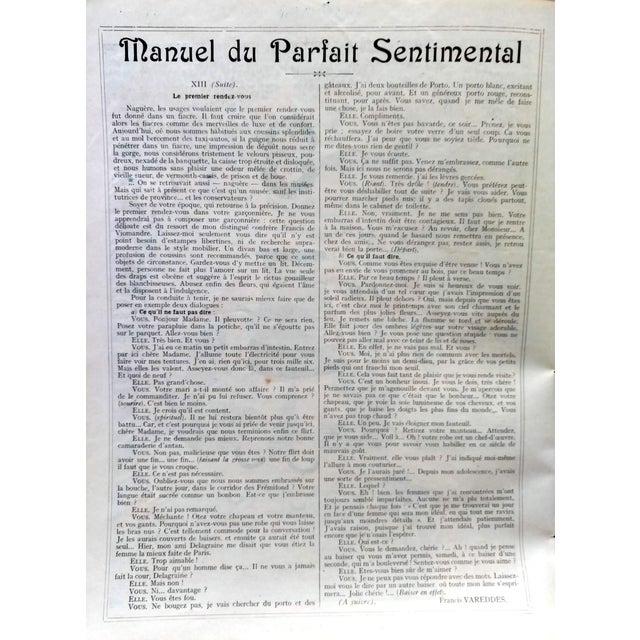 "1920 Stan Offel Le Sourire ""Noah's Ark"" Print For Sale - Image 5 of 5"