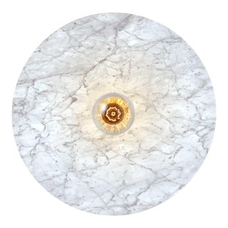 Venus Marble Wall or Ceiling Light For Sale