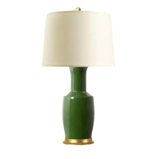 Dark Green Alia Lamp