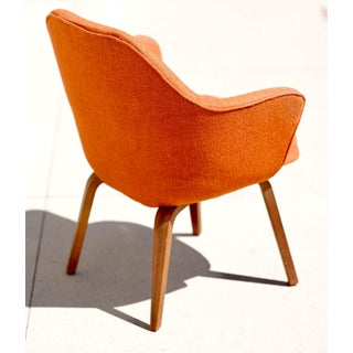 Vintage Mid Century Knoll Eero Saarinen Executive Chair Prototype Closed Back Preview
