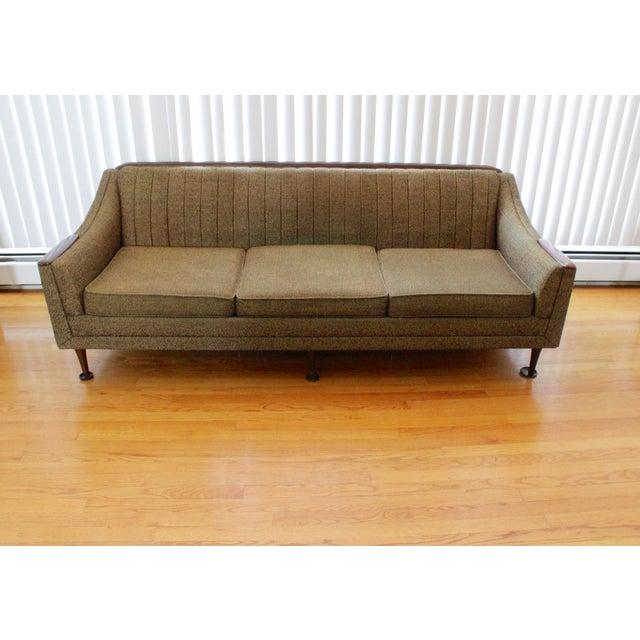 Vintage Mid Century Modern Sofa: Kroehler Mid-Century Modern Sofa